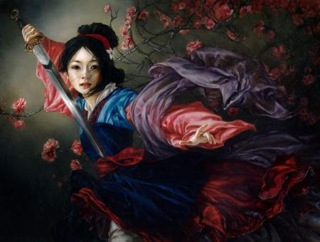 Mulan Fantasy Abstract Background Wallpapers On Desktop Nexus Image 2532299