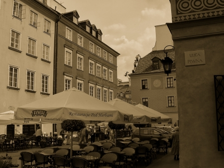 The Old Town sub-district of Warsaw - Poland, city, relax, Warsaw, sightseeing