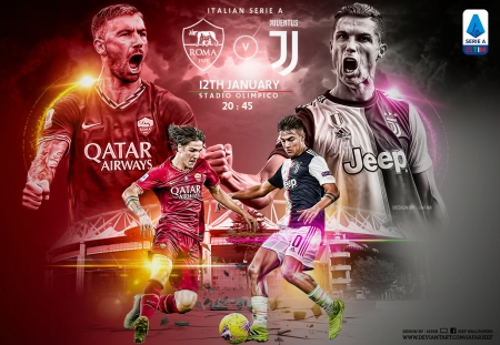 As Roma Vs Juventus Soccer Sports Background Wallpapers On Desktop Nexus Image 2532922