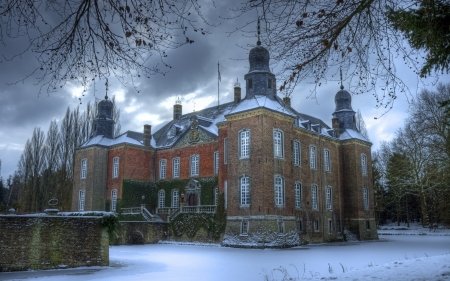 Winter Castle - photography, snow, castle, winter