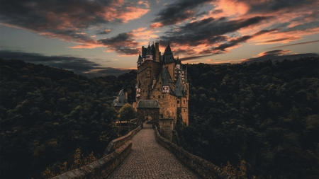 Eltz Castle - photography, germany, Eltz, castle