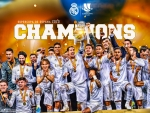REAL MADRID SUPERCOPA DE ESPANA CHAMPIONS