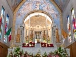 Church Altar in Mexico