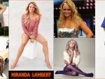Country Music Singer Miranda Lambert