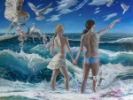 Sea of change ~ Adam and Eve