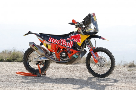 KTM 450 Rally - endurance, thrill, rally, ride