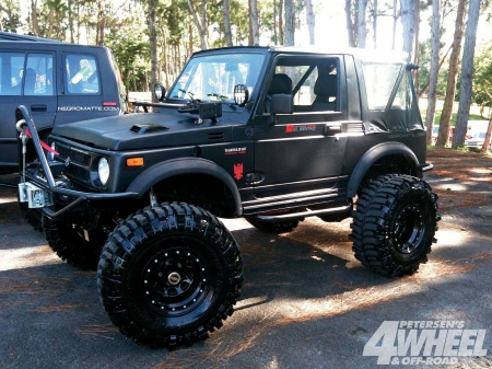 Suzuki Samurai - thrill, 4x4, offroad, ride