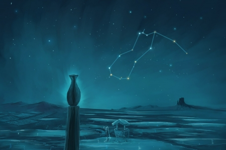 Zodiac ~ Aquarius - Fantasy u0026 Abstract Background Wallpapers