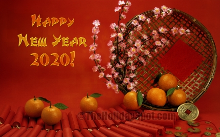 Chinese New Year 2020 - New, Chinese, Year, 2020