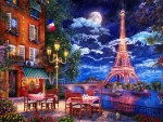 Moonlight in Paris
