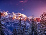 Winter dolomites