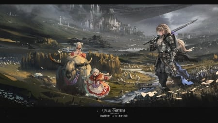 Pixiv Fantasia - fantasy, illustration, digital art, fantasy art