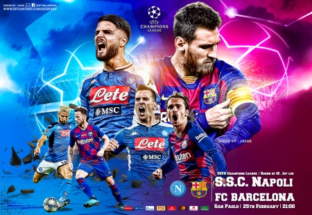 Napoli Fc Barcelona Champions League Soccer Sports Background Wallpapers On Desktop Nexus Image 2537699