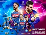 NAPOLI - FC BARCELONA CHAMPIONS LEAGUE