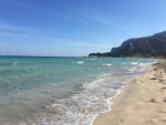 Mondello Beach in Sicilia