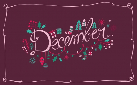 :) - winter, december, calendar, christmas, purple, craciun, card