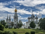 Monastery in Vologda, Russia