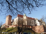 Wawel Castle in Krakow, Poland
