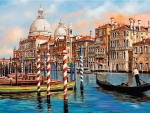 Afternoon in Venice, Grand Canal