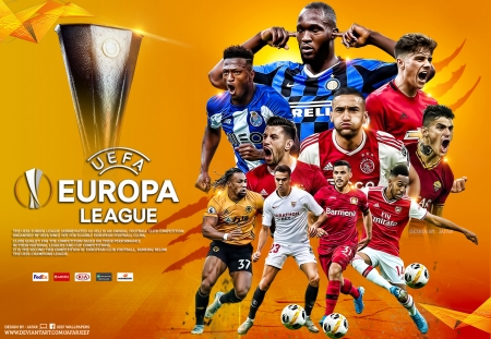 EUROPA LEAGUE - manchester united, arsenal, inter milan, porto, as roma, EUROPA LEAGUE final, EUROPA LEAGUE wallpaper, football wallpaper, inter, benfica, champions league, ajax amsterdam, football