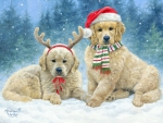 Holiday Puppies