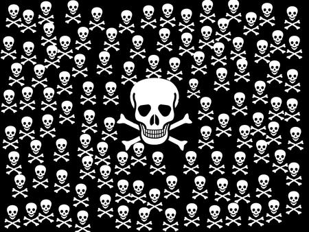 skull - skull, bones