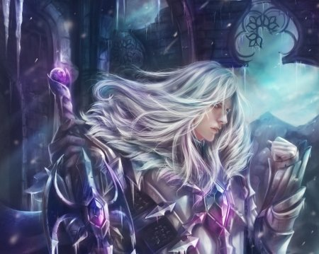 Leomord Frostborn Paladin Fantasy Abstract Background Wallpapers On Desktop Nexus Image 2540275
