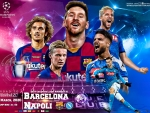 FC BARCELONA - NAPOLI CHAMPIONS LEAGUE 2020