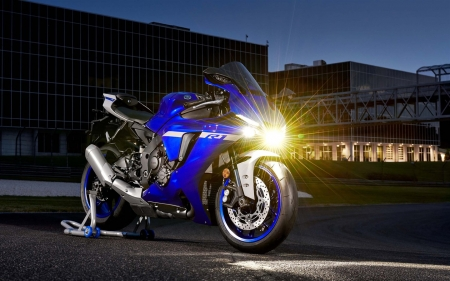 R1 2020 by night - R1, Yamaha, superbike, 2020