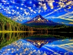Amazing Earth Reflection
