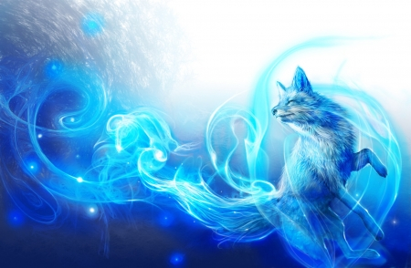 The Blue Flame Fantasy Abstract Background Wallpapers On Desktop Nexus Image 2542206