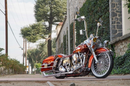 1979-Harley-Davidson-Shovelhead - HD, Bike, 1979, Chrome