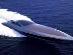Sleek Cigar Speedboat