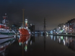 Emden Harbor, Germany