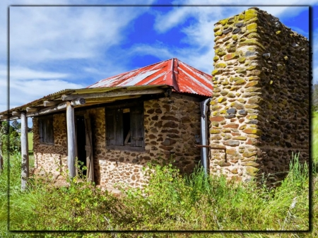 OLD HOUSES...NSW...AUSTRALIA - IMAGE, BUILDING, HOUSE, OLD