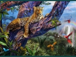 Leopard in Jungle