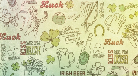 Soon.. - background, wallpaper, holidays, St Patricks day, abstract, luck