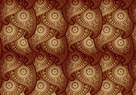 Paisley repeat - paisley, pattern, pretty, brown, texture, repetative, abstract
