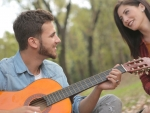 Musician and Girl
