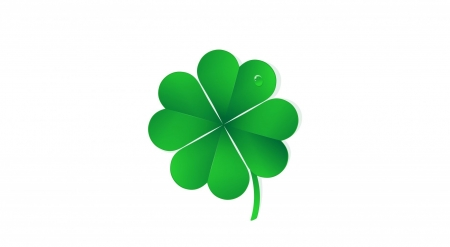 Good luck! - holidays, clover, background, wallpaper, lucky, abstract, digital art, luck, St Patricks day