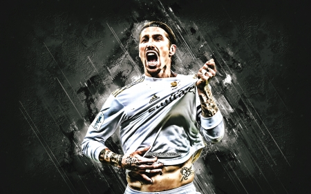 Sergio Ramos - real madrid, sport, sergio ramos, legend, football, ramos, captain, soccer, leader, spanish