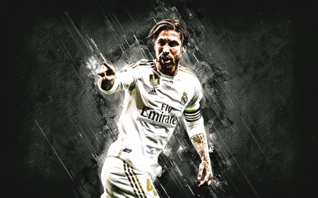 Sergio Ramos - sport, real madrid, sergio ramos, football, ramos, captain, spanish, soccer, leader, legend