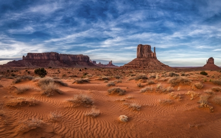 Monument Valley, USA - Monument Valley, nature, America, desert, National Park