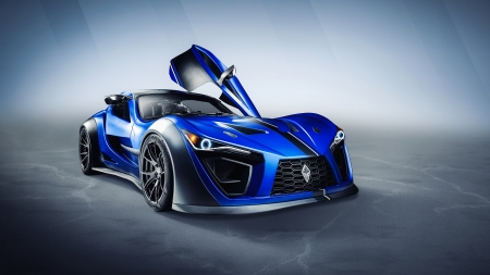 2020 Felino cB7R - cars, 2020 Felino cB7R, Felino, vehicles, blue cars