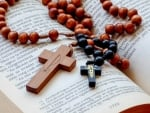 Rosary and Bible