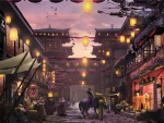 Ancient Chinese Street