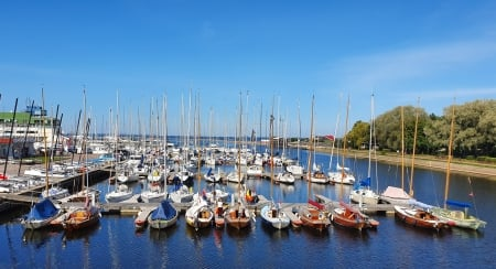 Tallinn harbour - yachts, Estonia, sea, Tallinn, harbor