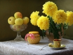 Chrysanthemum Still Life