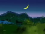 Pcologist-Yorkshire-valley-collection-flat-darkness-and-a-qtr-moon