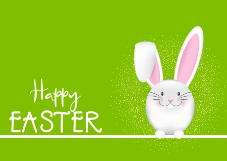 Happy Easter Wallpaper - cute, bunny, easter, white, wallpaper